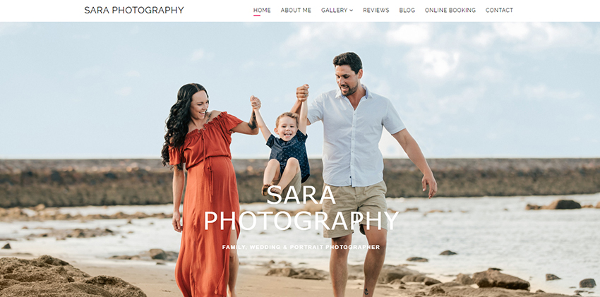 saraphotography website